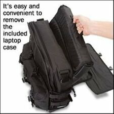 BLACK MOLLE Tactical Laptop Briefcase #3131 New SPEC OPS MESSANGER COMPUTER BAG