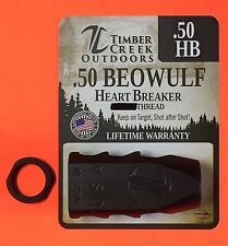 "TIMBER CREEK 3/4""-24 THREAD .50 BEOWULF TANKER MUZZLE RECOIL BRAKE + TIMING NUT"
