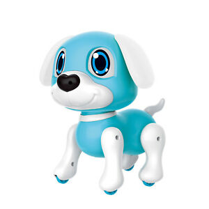 Electronic Robot Dog Toy with Gesture Sensing Lights and Puppy Sounds R9Q3