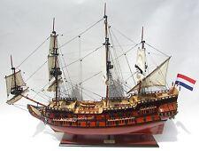 """Holland Frigate Friesland Tall Ship Model 37"""" - Handmade Built Wooden Model NEW"""