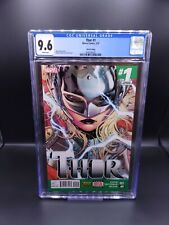 Thor #1 CGC 9.6 3rd Print  (2014) - Jane Foster becomes the new Thor! MCU MOVIE!