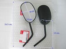 """HONDA CBX650 CBX750 CL175 CL250 NX125  MIRRORS SET L/R  """"GENUINE """" (sa)"""