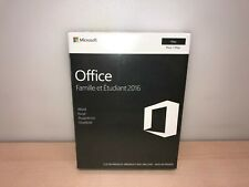 NEW Microsoft Office Famille et Etudiant 2016 for 1 MAC PC (French)