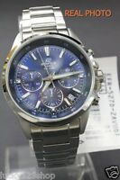EFR-527D-2A Blue Japan Movt Genuine New Casio Watches Chronograph 100M Date