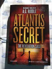 A.G. Riddle Atlantis secret Newton & Compton narrativa libro romanzo thriller