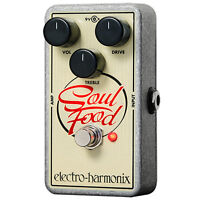 Electro-Harmonix Soul Food Overdrive Guitar Effect Pedal