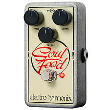 Electro-Harmonix Soul Food Overdrive Guitar Effect Pedal +Picks