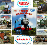Thomas' Big Storybook 6 books in 1 by W. Awdry  (Hardcover) FREE shipping $35