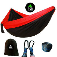 Camping Hammock Lightweight Double Travel Outdoor Parachute Tent Two 2 Person