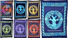 Indian Wall Hanging Celtic Yoga Mat Tapestry Ethnic Table Cover Poster Size Art