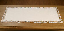 Lace Table Runner 'Special Cluny' White Home Decor Gift Homeware 88cms BRAND NEW