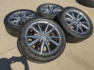 "19"" Acura RDX 2020 OEM wheels rims tires 71866 2017 2018 2019 2021 TSX 5x115"