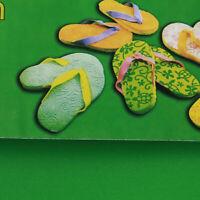 Handmade Plastic Texture Mat Fondant Impression Birthday Cake Decoration QK