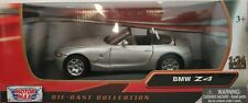 1/24 BMW Z4 GRIS LICENCIA OFICIAL COCHE DE METAL A ESCALA SCALE DIECAST