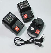 Radio 4 Channels Speedlite Flash Trigger for Nikon Canon Pentax Olympus PT-04GY