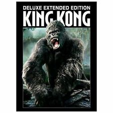King Kong Sealed 3 Disc Deluxe Extended Edition Naomi Watts with Slip Cover