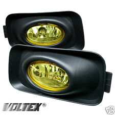 2004-2005 ACURA TSX OEM FOG LIGHTS LIGHTBAR LIGHT BAR LAMP YELLOW