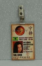 Serenity/Firefly Id Badge-River Tam costume cosplay prop