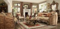 BRAND NEW HOMEY DESIGN SOFA SET HD-1601 LIVING ROOM SET (SOFA LOVE CHAIR TABLE)