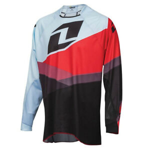 ONE INDUSTRIES VAPOR SHIFTER RED / BLACK MOTOCROSS MX MTB BIKE CYCLE JERSEY