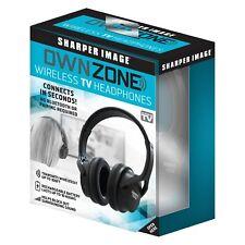 New in Box Sharper Image Ownzone Wireless TV Headphones Own Zone