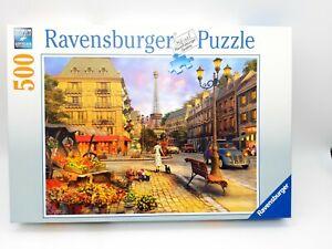 500 Pieces Puzzle - Walk By Paris - Ravensburger