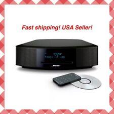 Bose Wave Music System IV w/ Remote,CD Player AM/FM Radio Espresso Black