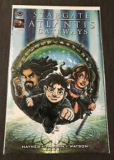 Stargate Atlantis Gateways #1 Cover B Gate Kids American Mythology Comic