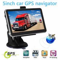 5'' Portable Car GPS Navigation Auto Navigator Nav 8GB 256MB RAM with Free Map