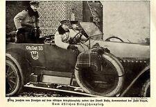 Prinz Joachim v.Preußen & Oberst Busse Kommandant der Fest Boyen c.1915