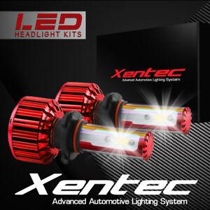 60W 6000LM COB LED Headlight Kit Light Bulbs 6000K White High Power 9006 HB4
