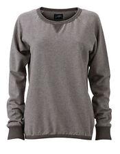Jerséis y cárdigan de mujer de color principal gris 100% algodón