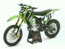Kawasaki/Twotwo KX450F Chad Reed Nr.22, Newray Motorcycle Model 1:12,