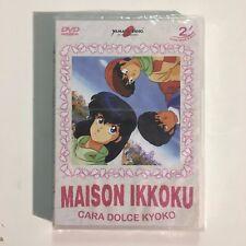 Cara Dolce Kyoko - Maison Ikkoku Vol 02 (2 Dvd) ep. 13/24 YAMATO VIDEO NUOVO