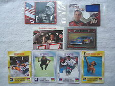 "Lot Of 8 Mixed Trading Cards "" AWESOME SET """