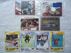 """Lot Of 8 Mixed Trading Cards """" AWESOME SET """""""