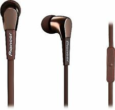 Pioneer in Ear Isolating Earphone With Controls and Microphone - Bronze