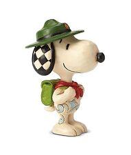 Peanuts - Snoopy Boy Scout Jim Shore Mini Figurine 6001296