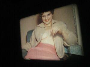 16MM FILM  - 1950s - SILENT - COLOR-MODEL- # 177