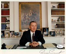 ROSS PEROT SIGNED PHOTO 8X10 RP AUTOGRAPHED PICTURE