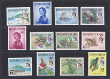 1963 Dominica mounted mint definitive stamps SG 162-173 short set to 24c
