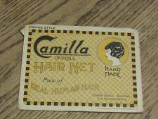 Camilla Human Hair Hair Net, Invisible, Fringe Style (FC2-1)