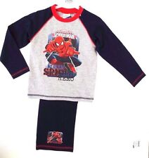 Marvel Ultimate Spider-Man Boy's Pajama 2 Piece Set Top/Bottom Age 4/5 Years NWT