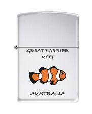 NEW Zippo Lighter - Souvenir Range - L9938 - Great Barrier Reef