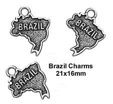 5pcs Brazil Charms for Jewelry Making