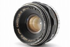 [B V.Good] Canon 35mm f/2 Rangefinder Lens for Leica L39 Screw From JAPAN Y3680
