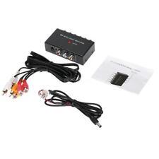 2 Port Input 1 Output Video Audio AV RCA Switch Switcher For DVR DVD Camera C8V0