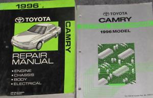 1996 TOYOTA CAMRY Service Repair Workshop Shop Manual OEM Factory W EWD