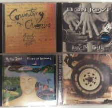 4 CDs Counting Crows - Bon Jovi - Billy Joel - Bryan Adams
