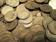 10 X SHILLING COINS OLD ENGLISH PRE DECIMAL SHILLINGS